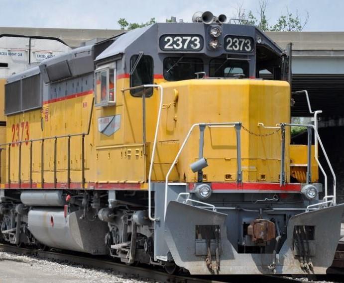 Ann Arbor Railroad - Yellow & Gray Locomotive Decals
