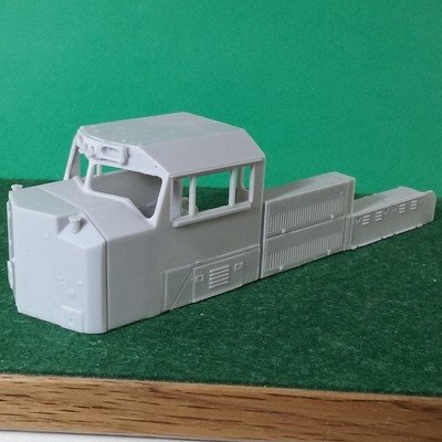 HO Scale Parts - SD70 ACC Cab