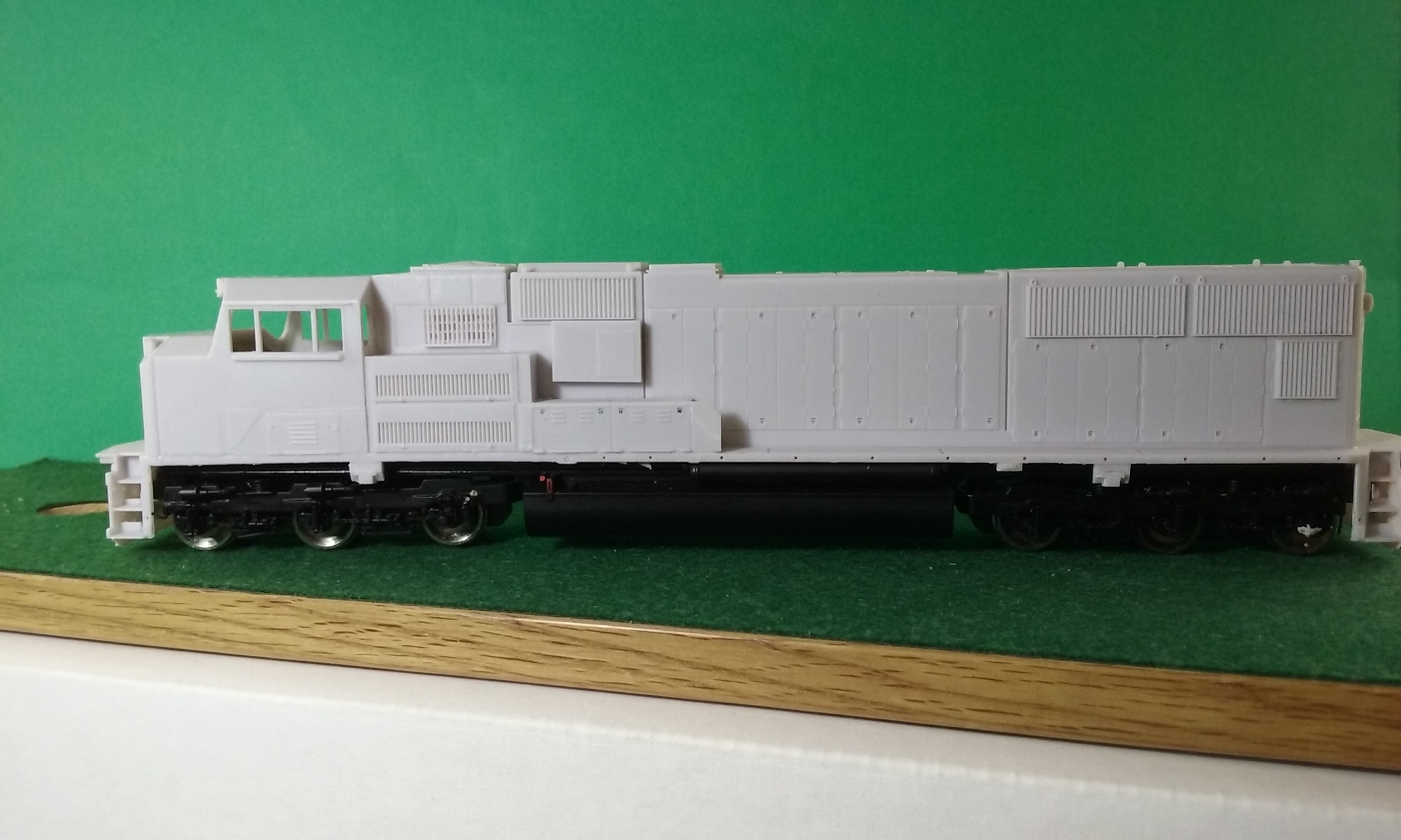 HO Scale SD70 ACC Locomotive Shell, HO Scale Trains, by Pacific Northwest Resin HO228