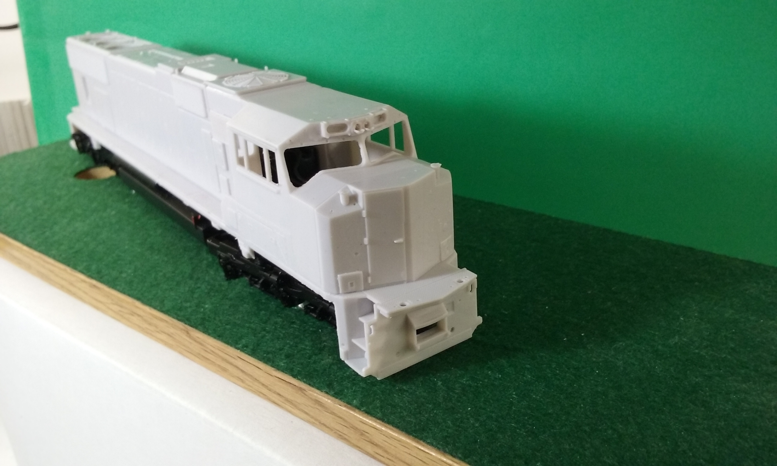 HO Scale SD70 ACC Locomotive Shell, HO Scale Trains, by Pacific Northwest Resin