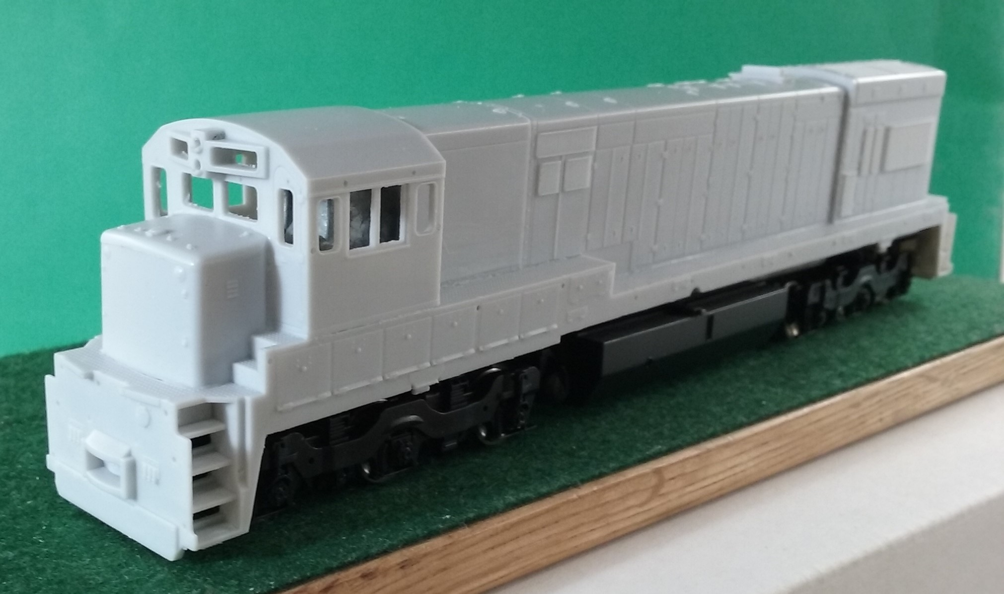 HO Scale CR / PC U23 C Engine Shell, HO Scale Trains, by Pacific Northwest Resin HO230