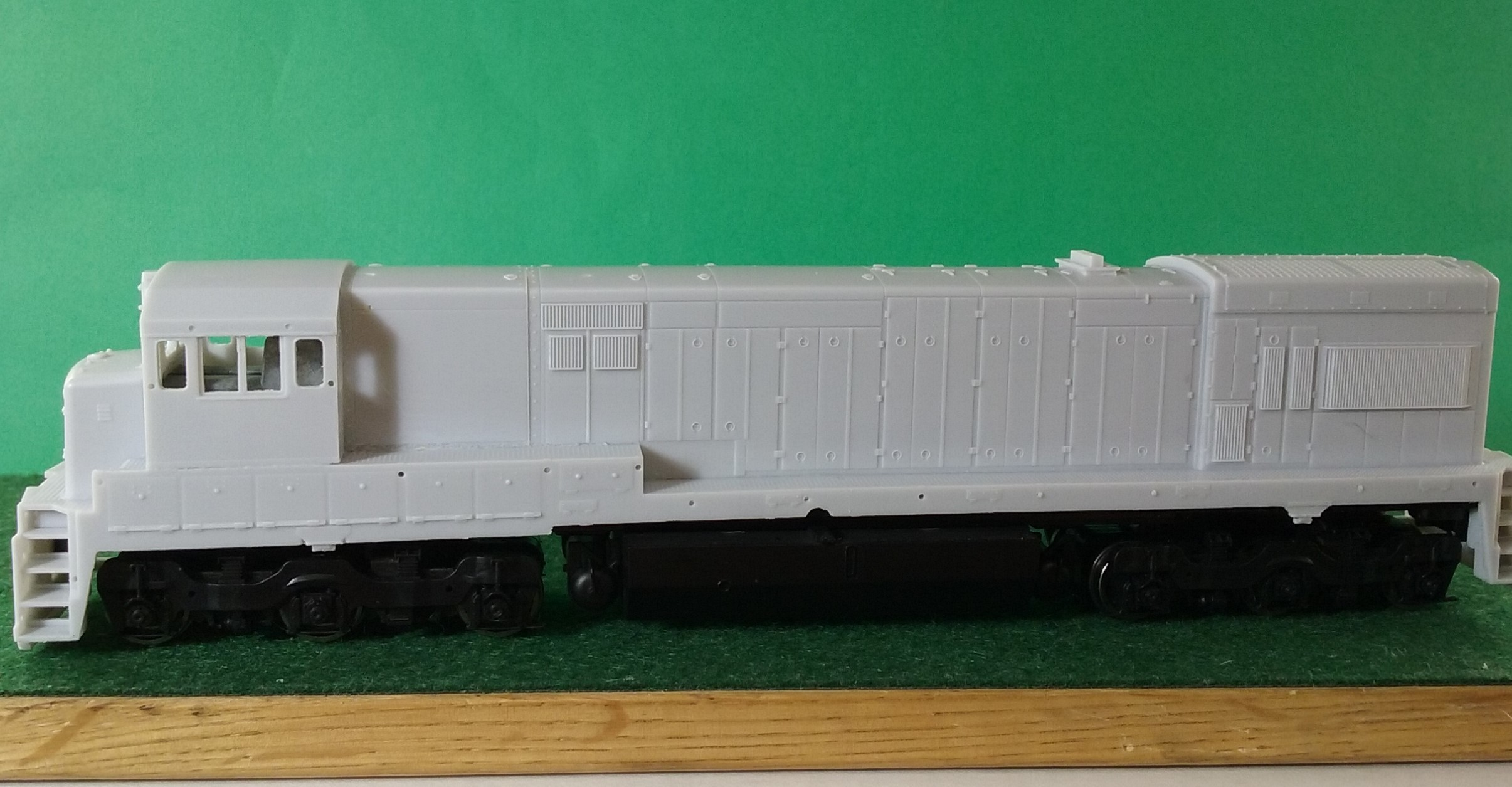 HO Scale CR / PC U23 C Engine Shell, HO Scale Trains, by Pacific Northwest Resin