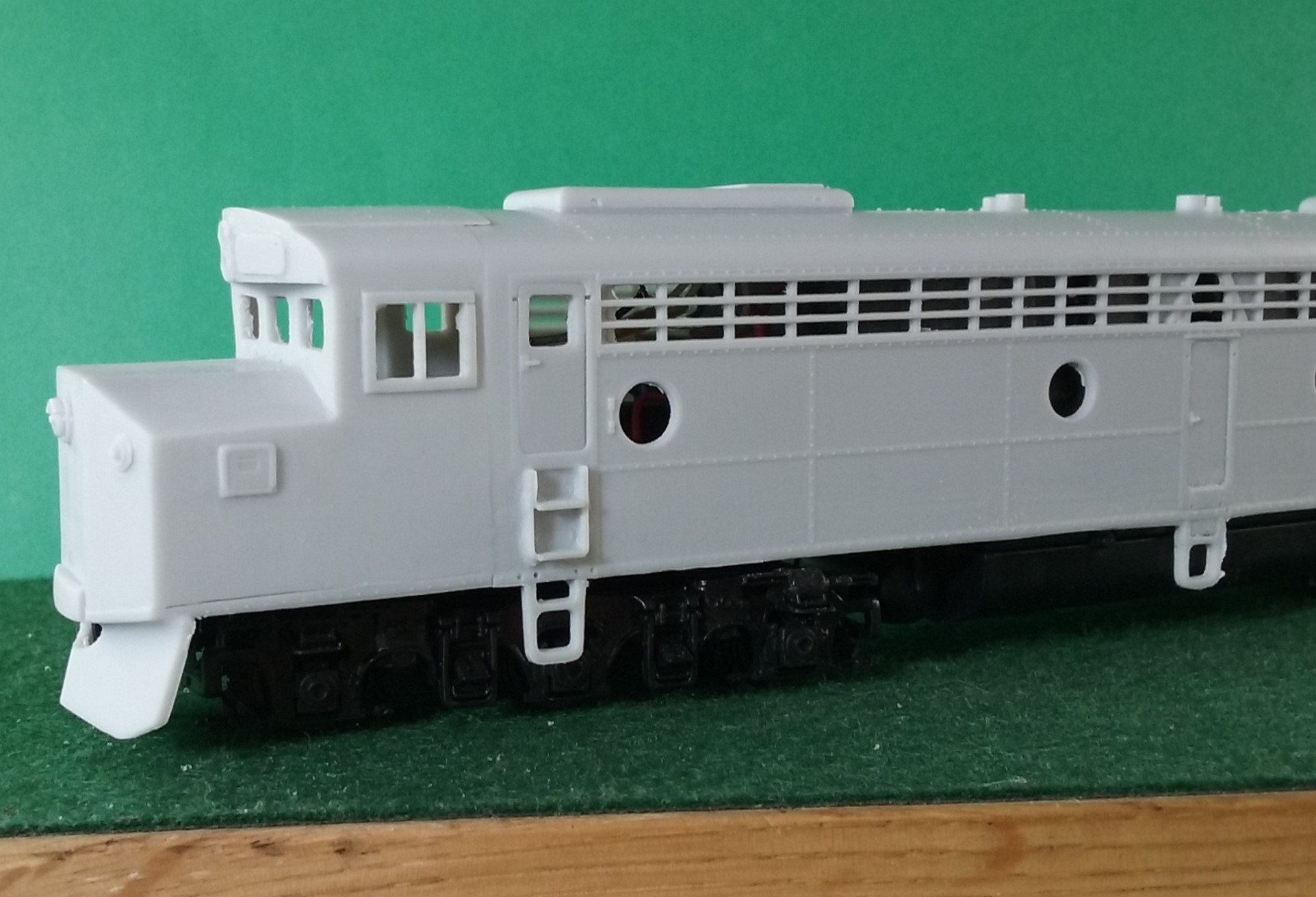 HO Scale - CNW E-8 Crandall Cab Locomotive Shell, by Pacific Northwest Resin HO232