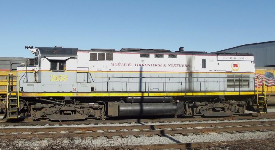 Mohawk, Adirondack & Northern Locomotive Decals