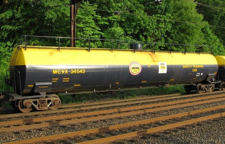 CSX/MCVX Safety Train Decals