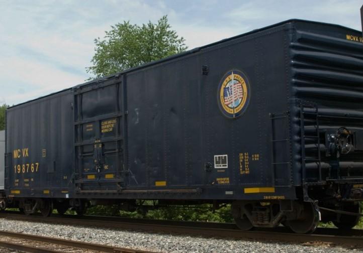 CSX/MCVX Police Boxcar