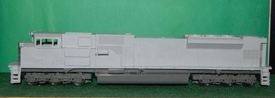 NS SD70ACU rebuild Engine Shell, HO Scale Trains, by Puttman Locomotive Works