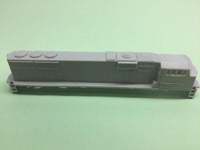 N Scale Trains, Norfolk Southern SD60E Locomotive Shell, by CMR Products