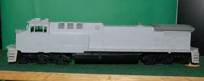 NS AC44C6M Engine Shell, HO Scale Trains, by Puttman Locomotive Works