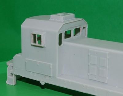 TEBC6 BN Slug w/o DB Engine Shell, HO Scale Trains, by Puttman Locomotive Works