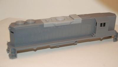 GP38-2 High Hood w/DB Engine Shell, HO Scale Trains, by Puttman Locomotive Works