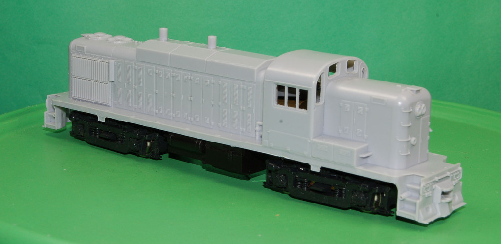 "RS3M Conrail/Penn Central ""Dewitt Geep"" Engine Shell, HO Scale Trains"