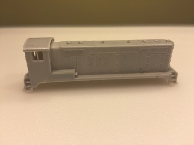 N Scale Trains, ATSF Beep Locomotive Shell, by CMR Products