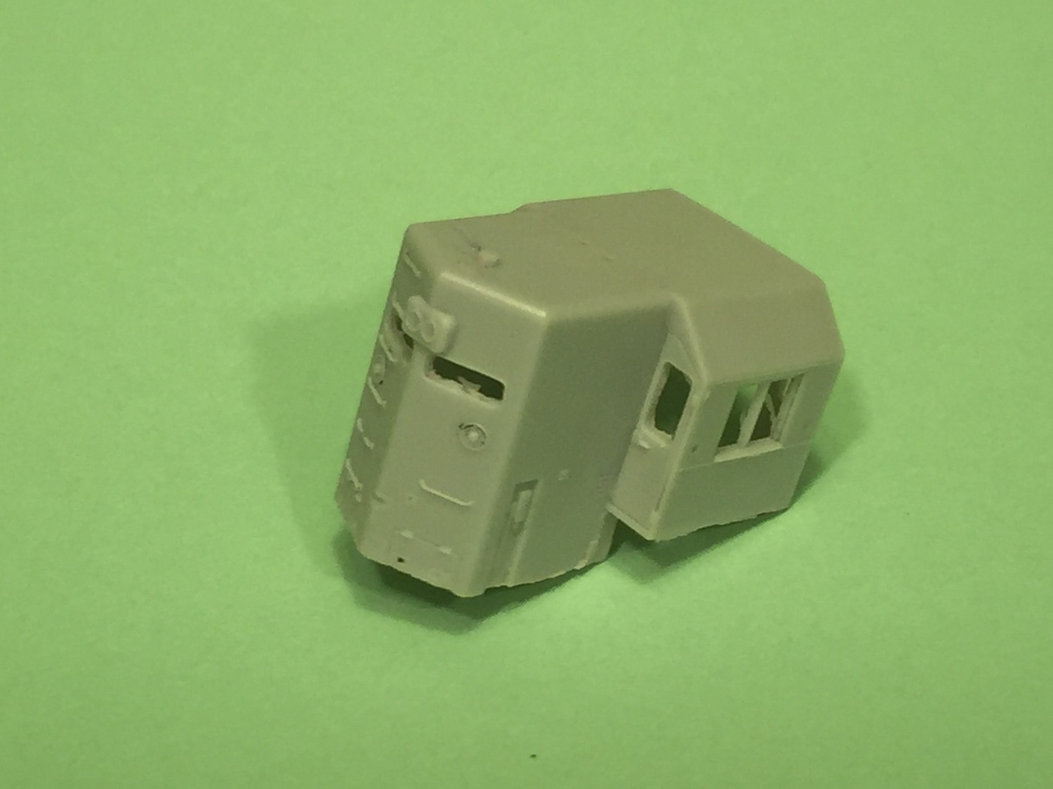 N Scale Trains, EMD High Hood Cab Section, by CMR Products