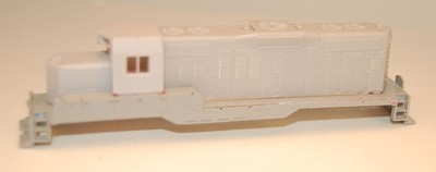 N Scale Trains, GP9 Chop Nose w/ DB Locomotive Shell, by CMR Products