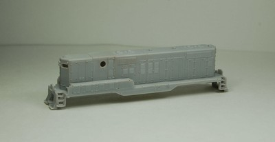 N Scale Trains, GP9 B Unit w/o DB Locomotive Shell, by CMR Products