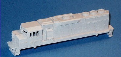 N Scale Trains, GP60M Locomotive Shell, by CMR Products