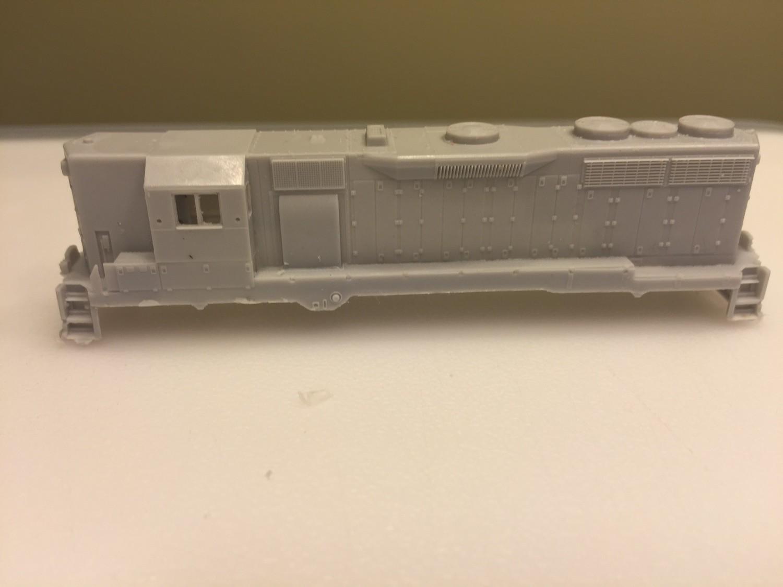 N Scale Trains, GP35 High Hood w/ DB Locomotive Shell, by CMR Products