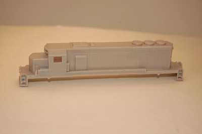 N Scale Trains, SD40 w/o DB Locomotive Shell, by CMR Products