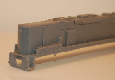 N Scale Trains, SD45-2 B Unit Locomotive Shell, by CMR Products
