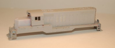 ​N Scale Trains, GP9 Chop Nose w/o DB Locomotive Shell, by CMR Products
