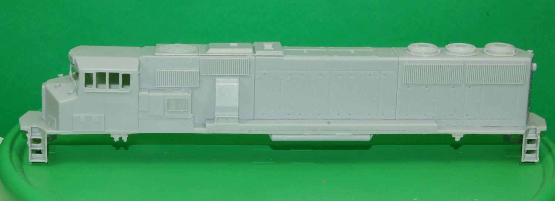 MK50-3 Ph2 Engine Shell, HO Scale Trains, by Puttman Locomotive Works