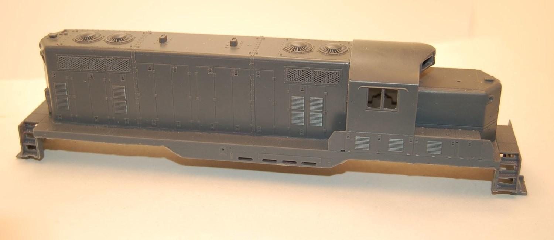 GP7 Chop Nose w/o DB Engine Shell, HO Scale Trains, by Puttman Locomotive Works
