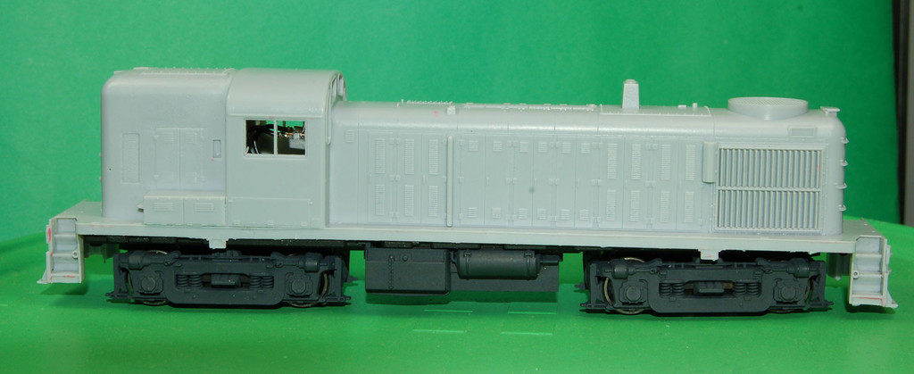 RS3 Hammer Head Engine Shell, HO Scale Trains, by Puttman Locomotive Works
