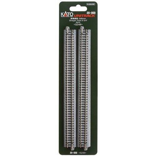Kato Unitrack Straight 248mm Package