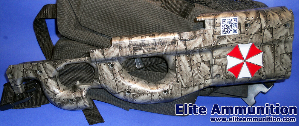 Hydrographic Print P90 Stock Halves