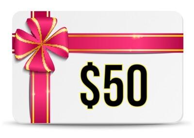 $50 Elite Ammunition E-Certificate