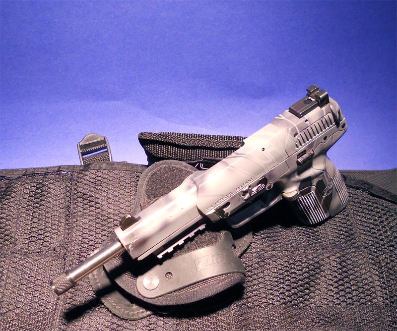 7.0 Inch barrel For FsN 5.7 MKII, USG, IOM, Tactical model Threaded 10x1 mm RH PREORDER ITEM