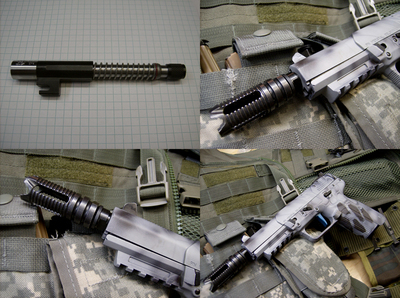 5.4 Inch barrel For FsN 5.7 MKII, USG, IOM, Tactical model Threaded 10x1 mm RH PREORDER ITEM