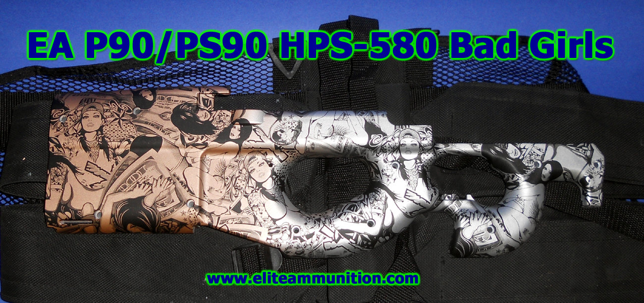 Hydrographic Print PS90 Stock Halves