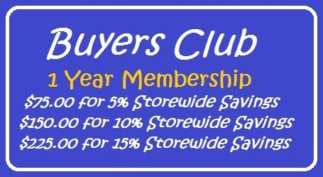 1 Year Buyers Club Membership