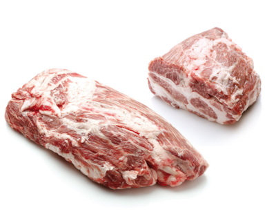 IBERICO PORK COLLAR - SPAIN - $5.20 PER 100 GMS