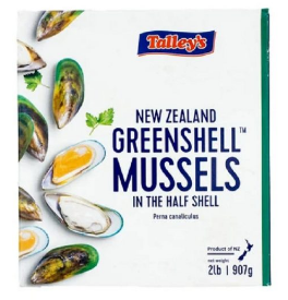 GREEN SHELL MUSSELS - NEW ZEALAND