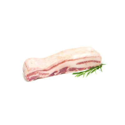 BERKSHIRE PORK (KUROBUTA) BELLY SKINLESS - USA - $4.30 PER 100 GMS