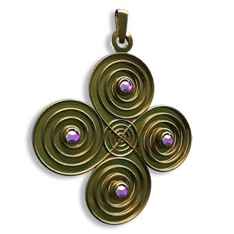 Medallón de Abundancia MALD001