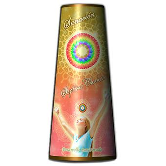 Vela del séptimo chakra