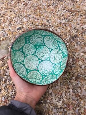 Hatteras Bowls Green Coconut Bowl