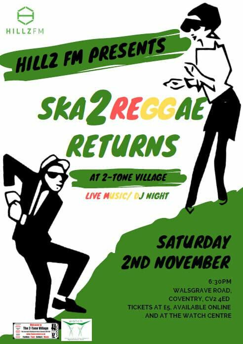 Ska 2 Reggae Returns Ticket (1 x Admission)