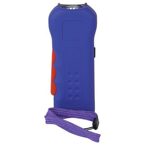 Trigger 18,000,000 Purple Stun Gun Flashlight with Disable Pin
