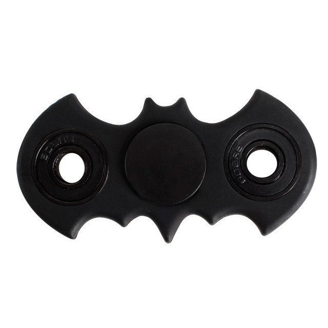 Bat Fidget Spinner ( Black )
