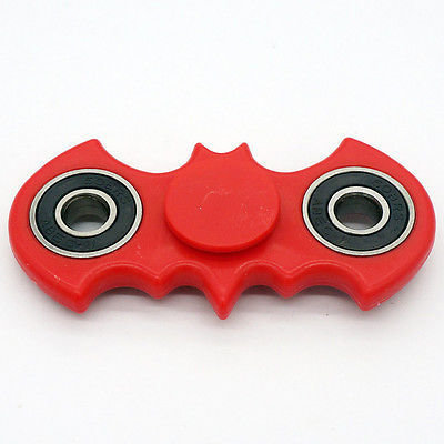 Bat Fidget Spinner (Red)