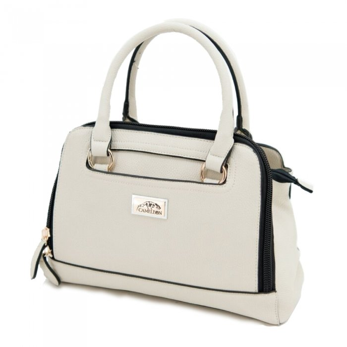 Belladonna Concealed Carry Purse: Cream