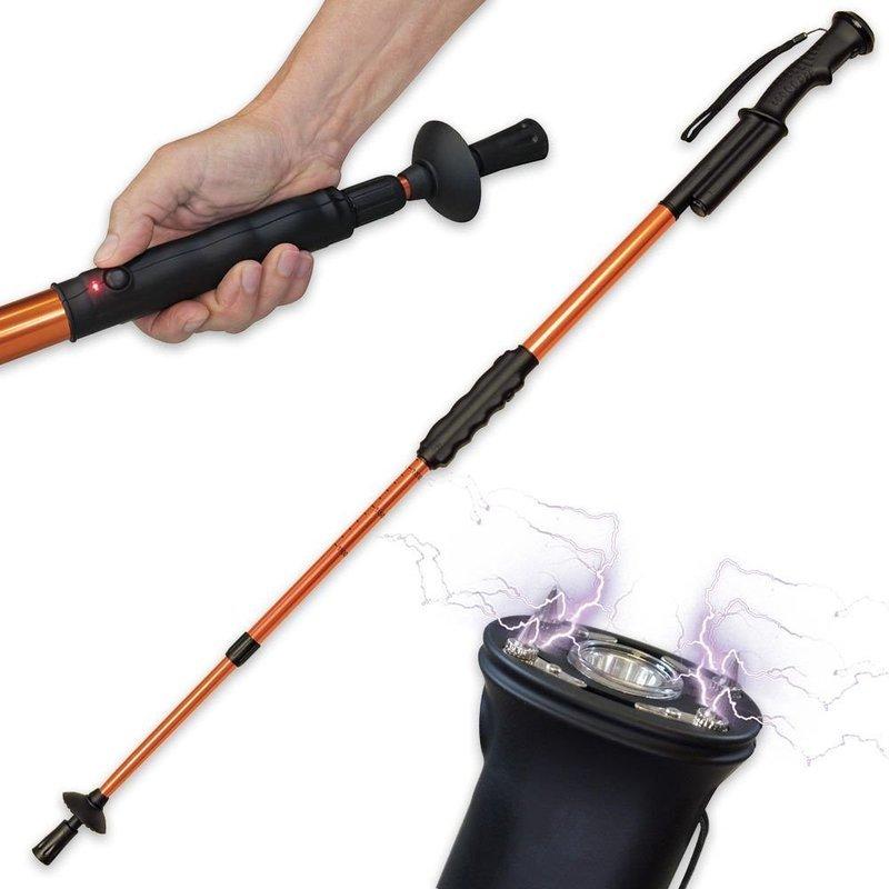 Hike N Strike - Stun Gun Flashlight Walking Stick