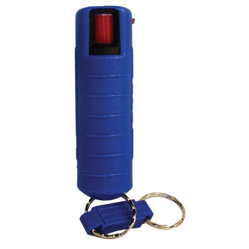 Lab Certified Streetwise 18 Pepper Spray, 1/2 oz. Hard Case BLUE