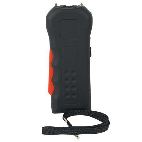 Trigger 18,000,000 Black Stun Gun Flashlight with Disable Pin