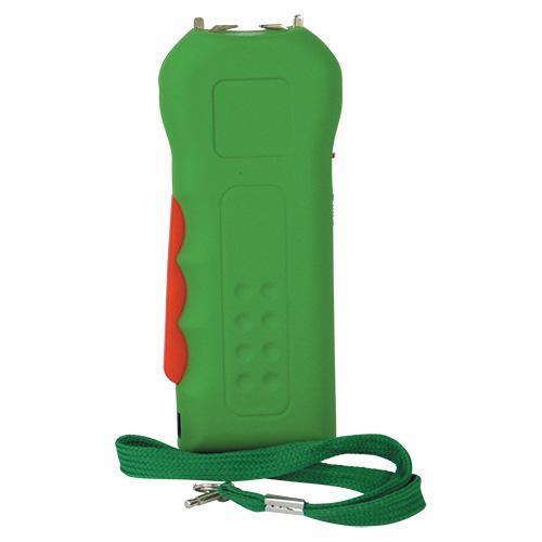 Trigger 18,000,000 Green Stun Gun Flashlight with Disable Pin